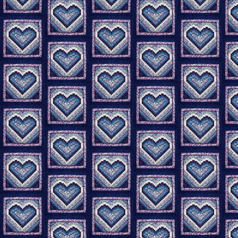 quilt_squares_heart fabric by vinkeli on Spoonflower - custom fabric