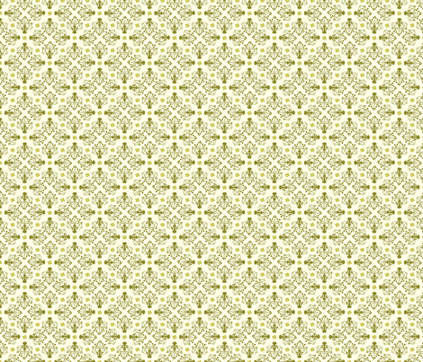 City of Derry Shamrock -small green fabric by cherryandcinnamon on Spoonflower - custom fabric