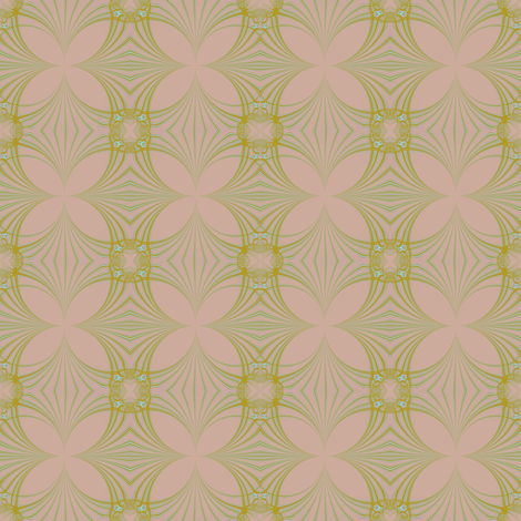 Art Deco Nosegay fabric by eclectic_house on Spoonflower - custom fabric