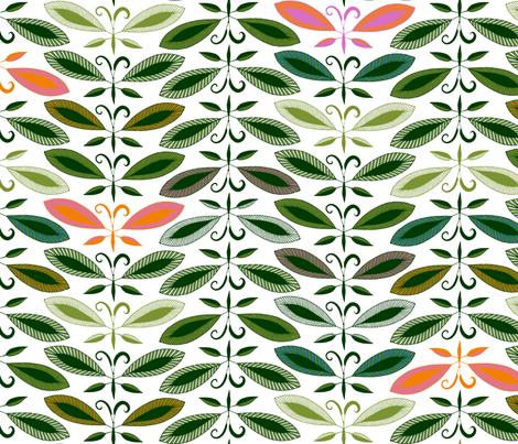 Butterleaf Tree fabric by spellstone on Spoonflower - custom fabric