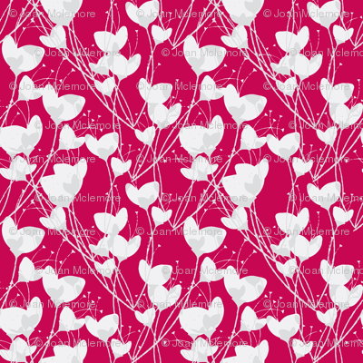 Primrose Red Background