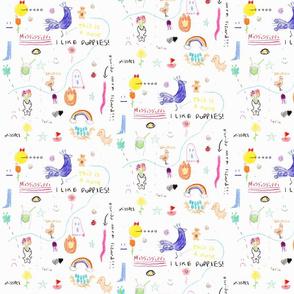 Iris fabric