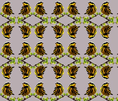 Cute as a Bird! fabric by robin_rice on Spoonflower - custom fabric