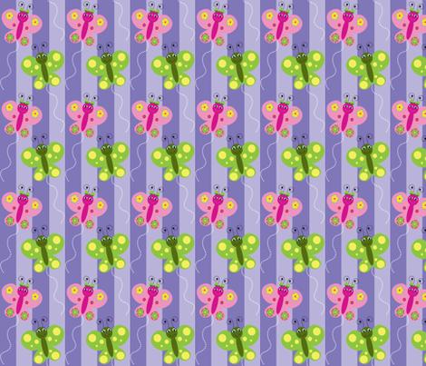 Butterflies fabric by writefullysew on Spoonflower - custom fabric