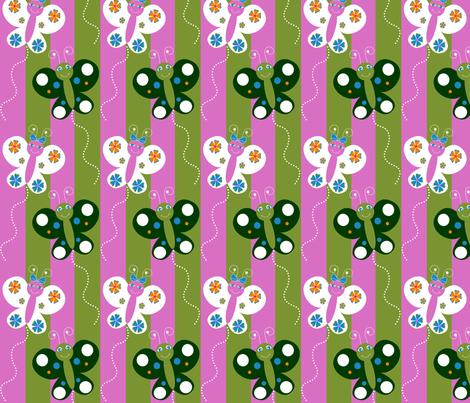 Butterfly_Fun fabric by writefullysew on Spoonflower - custom fabric