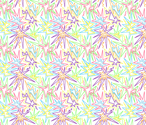 Color Explosion! fabric by michlae on Spoonflower - custom fabric