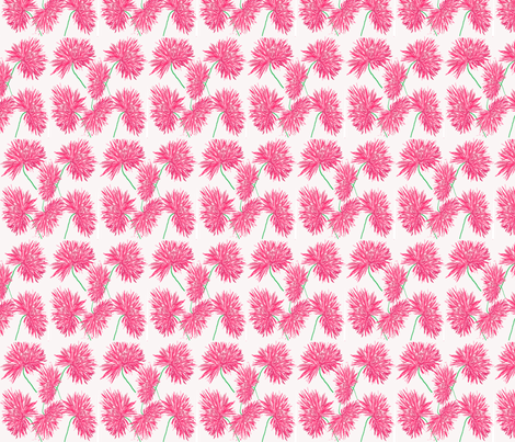 Fireworks Flower fabric by rosapomposa on Spoonflower - custom fabric