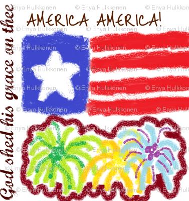 American Fireworks, please zoom
