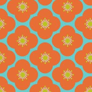 Bloom clouds - orange