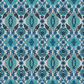 Tulip-Nar Turquise-Blue