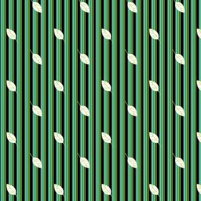 Funky Striped Leaves - Mermaids Calling - © PinkSodaPop 4ComputerHeaven.com