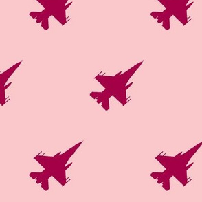 CF-18 Jet pink with pink