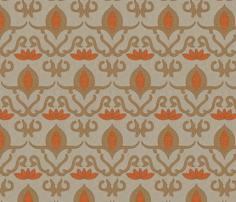 widden_harvest_linen fabric by holli_zollinger on Spoonflower - custom fabric