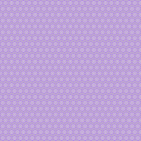 Court & Spark - Mini Dot Flowers Violet fabric by courtandspark on Spoonflower - custom fabric