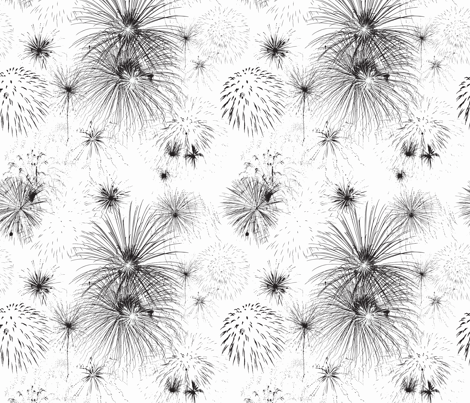Firework Delight fabric by creativebrenda on Spoonflower - custom fabric