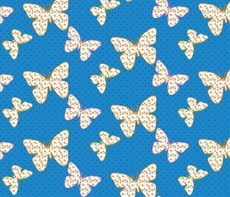 Butterflies within Butterflies fabric by sev on Spoonflower - custom fabric