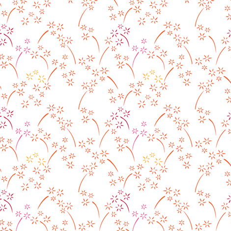 Summer Fireworks fabric by havemorecake on Spoonflower - custom fabric