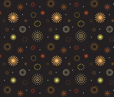 Fireworks Night fabric by jenimp on Spoonflower - custom fabric