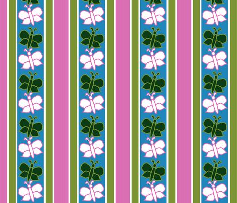 flutterbys fabric by maria_b on Spoonflower - custom fabric