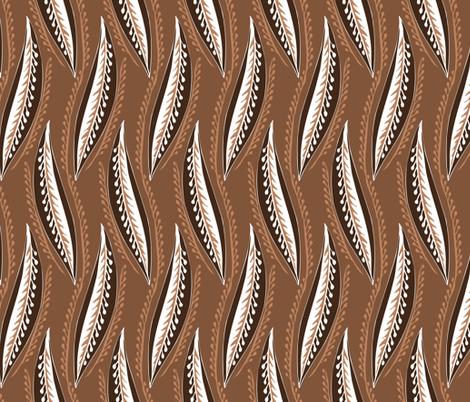 listky fabric by renule on Spoonflower - custom fabric