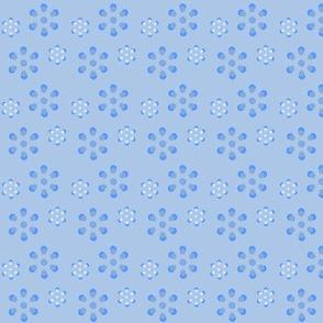Court & Spark - Scandi Flowers Pale Blue