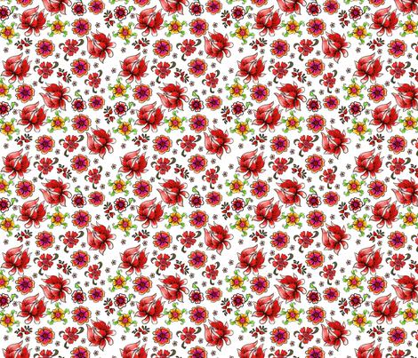 fleur_de_bohème_S fabric by nadja_petremand on Spoonflower - custom fabric