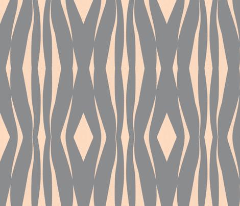 ribbons of rhythm fabric by joybea on Spoonflower - custom fabric
