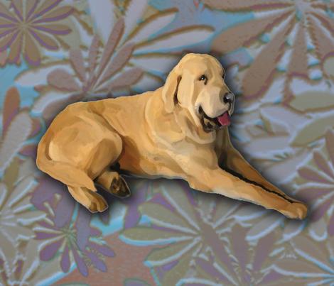 Spanish Mastiff Fat Quarter fabric by dogdaze_ on Spoonflower - custom fabric