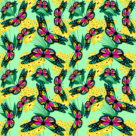 ALovelyBug fabric by grannynan on Spoonflower - custom fabric