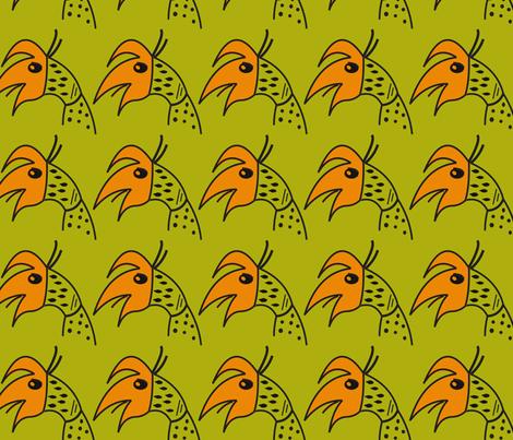 Island Friends fabric by melissamarie on Spoonflower - custom fabric