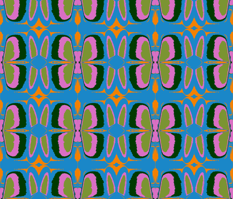 Deconstructed Butterflies fabric by susaninparis on Spoonflower - custom fabric