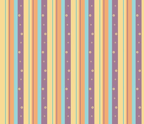 Purple Night Beach Stripe fabric by pantsmonkey on Spoonflower - custom fabric