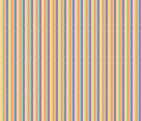 Purple Night Beach Skinny Stripe fabric by pantsmonkey on Spoonflower - custom fabric