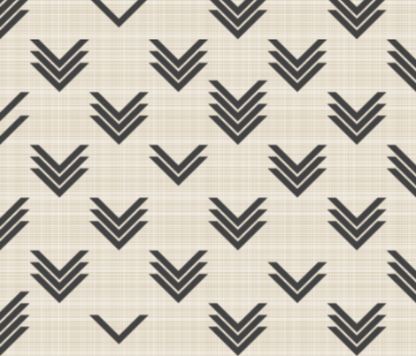 Blurred Chevrons on Linen fabric by candyjoyce on Spoonflower - custom fabric
