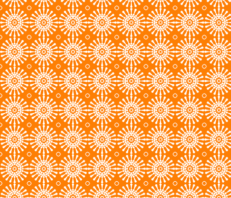 Dandelion_test_tile3 fabric by courtandspark on Spoonflower - custom fabric