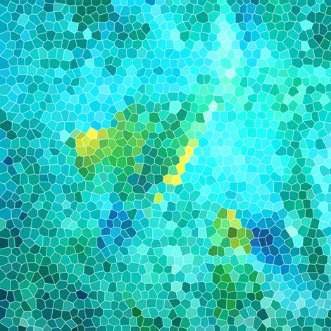 large scale mosaic fabric by heikou on Spoonflower - custom fabric