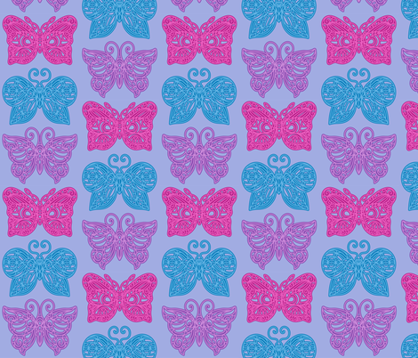 Butterfly Lace fabric by jillianmorris on Spoonflower - custom fabric