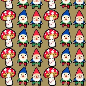 gnome mushroom mash