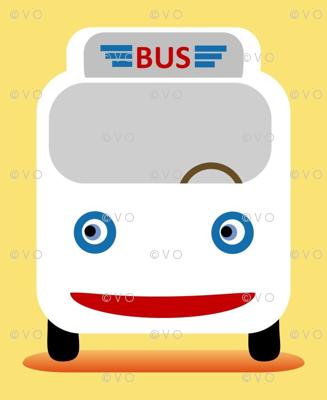 Yellow bus!