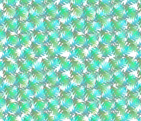©2011 fallleaves paraiba fabric by glimmericks on Spoonflower - custom fabric
