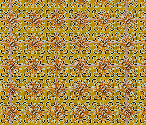 ©2011 squiggle toast fabric by glimmericks on Spoonflower - custom fabric