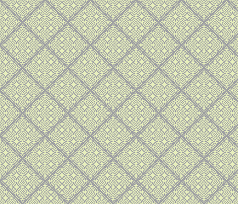 Lattice in Gray fabric by joanmclemore on Spoonflower - custom fabric