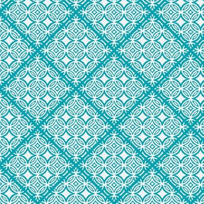 Lattice turquoise