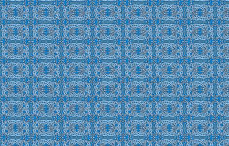 Blue Celtic Knot Greyhounds ©2011 by Jane Walker fabric by artbyjanewalker on Spoonflower - custom fabric