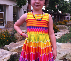 Rainbow Twirl Skirt