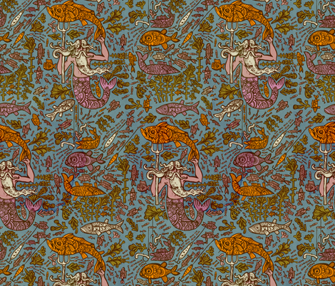 ahti fabric by ruusulampi on Spoonflower - custom fabric