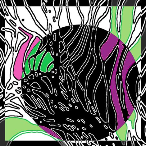 scarf design fabric by heikou on Spoonflower - custom fabric