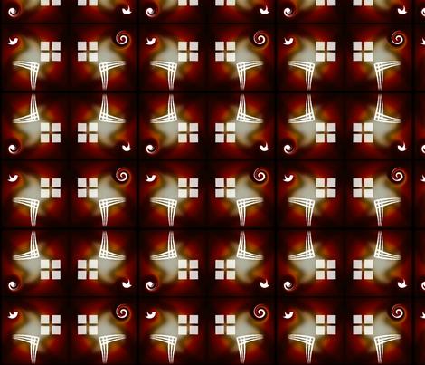 brick_coffee_window_brick fabric by pd_frasure on Spoonflower - custom fabric