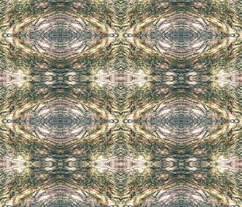 Gnarled Tree Bark 1 L fabric by animotaxis on Spoonflower - custom fabric