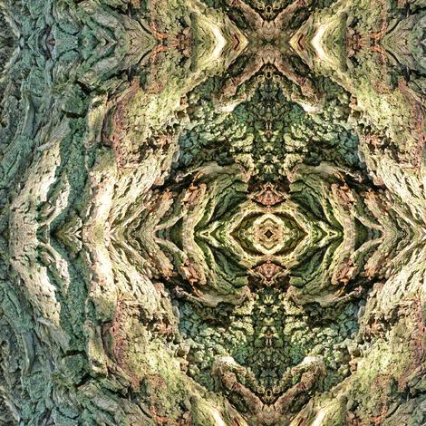 Gnarled Tree Bark 2 S fabric by animotaxis on Spoonflower - custom fabric